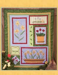 253 best Debbie Mumm images on Pinterest | Picasa, Sewing ideas ... & Debbie Mumm-Favorite Flowers Six Installment Quilt Project Website visitors  have permission to print this project for personal use only. Adamdwight.com