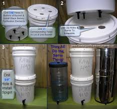 7 Homemade Water Filters You Can Make Easily The Self Sufficient