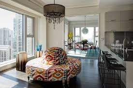 design debate will a circular settee make your home look like a hotel lobby wsj
