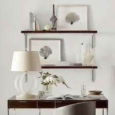 Customizable Wood Shelf And Brackets Smoked Eucalyptus