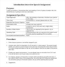 Sample Speech Outline Introduction Template Samples Presentation ...
