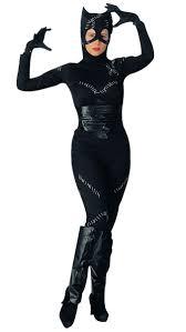 more views of y black catwoman jumpsuit