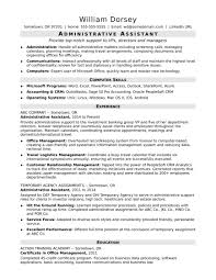 Administrative Assistant Resume Examples Resumes Sample 2013 Free