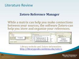Ten Simple Rules for Writing a Literature Review SlideShare