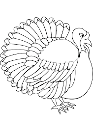 Colored Turkey Drawing at GetDrawings.com   Free for personal use ...