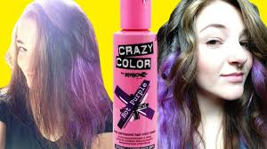 Crazy Colour Black Hair Dye Review