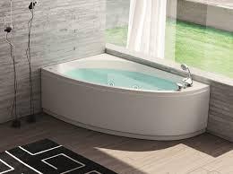 corner whirlpool bathtub nova corner bathtub by gruppo geromin