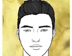 طريقة اختيار تسريحة وقصة الشعر للرجال حسب شكل الوجه المناسب