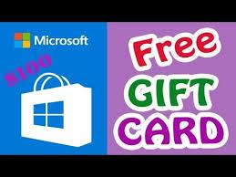 Microsoft Giftcard Get A 50 Microsoft Gift Card 100 Working