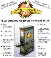 Loose Cigarette Vending Machine For Sale Beauteous Vending Coin Operated Loose Cigarette Vending Machine New