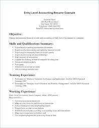 Resume Example Entry Level Resume Examples Entry Level Resume ...
