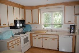 Refinishing Formica Kitchen Cabinets Painting Kitchen Cabinets And Replacing Countertops Kitchen