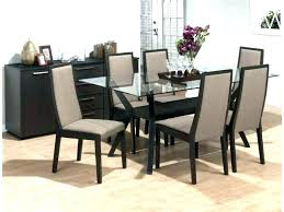 large glass dining table rectangle glass top dining table sets contemporary rectangular glass top dining table