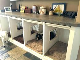 kennel furniture pet crate decorative dog crates lovely wooden diy end table black97
