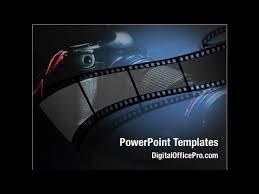 Movie Powerpoint Template Film Strip Powerpoint Template Backgrounds Digitalofficepro 05878
