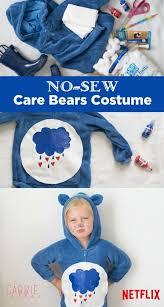 easy no sew care bear costume