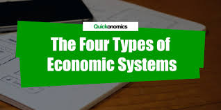 Types Of Economic Systems Chart The Four Types Of Economic Systems Quickonomics