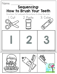 Sequencing Worksheets For Kindergarten Story Sequence Pictures ...