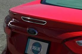 Стальная <b>накладка на задний стоп-сигнал</b> Omsa Line   Ford ...