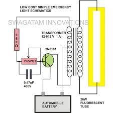 20 watt tubelight emergency light circuit diagram electronic 20 watt tubelight emergency light circuit diagram electronic circuit projects