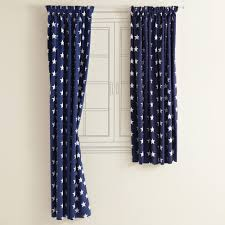 Navy Blue Bedroom Curtains Kids Blackout Curtains Navy Star Blackout Curtains Room