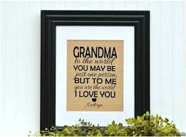 gift ideas for grandma birthday birthday gifts formidable framed grandmother gift unique gift idea grandma birthday