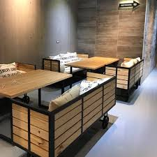 industrial restaurant furniture. Industrial Loft Style Restaurant Furniture,Restaurant Wooden Sofa,Sofa With Casters And Wheels - Buy Furniture Product On Alibaba.com T