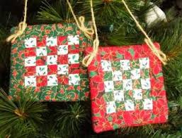 Quilt Ornaments by IamSusie, via Flickr | Quilting - Christmas ... & Quilt Ornaments by IamSusie, via Flickr Adamdwight.com