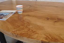white oak slab dining 1 jpg