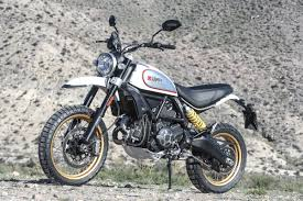 2017 ducati scrambler desert sled first ride review 12 fast facts