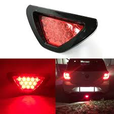 Brake Light Flasher For Car Details About Car Suv Red 12 Led F1 Racing Style Stop Brake Light Add On 3rd Tail Flasher Lamp