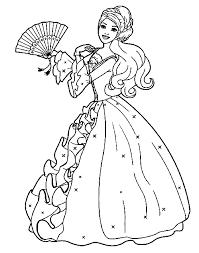 Prinses Kleurplaten Barbie