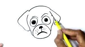 dog face drawing for kids. Contemporary Kids How To Draw Dog Face Easy Steps Step By For Children Kids Beginners Inside Dog Face Drawing For Kids 1