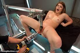Girls fucking with fuck machines