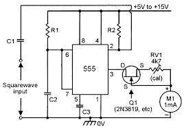 555 monostable circuits nuts volts magazine for the alternative version of the analog frequency meter