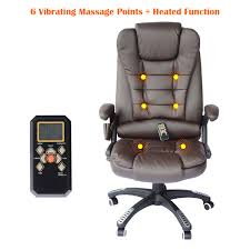 unique home office furniture. Simple Unique HOMCOM Heated Ergonomic Massage Chair Swivel High Back Leather Executive  Adjustable Vibrating Home Office Furniture In Unique Furniture