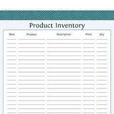Free Inventory Sheets To Print This Simple Printable Count Sheet Can Be Used By Small