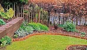 log roll edging lawn edging garden edging
