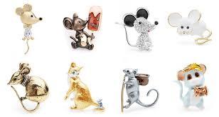Wuli&baby Special Style <b>Enamel Mouse</b> Brooches Women <b>Alloy</b> ...