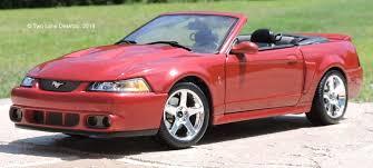 Two Lane Desktop: Maisto 1:18 2003 Ford SVT Mustang Cobra Convertible