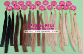 Hera Virgin Cuticle Hair Color Chart To Choose Your Prefer Color