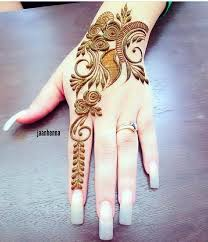 Mehndi Design Best Arabic Best Arabic Henna Design For Fingers Fashion Beauty Mehndi
