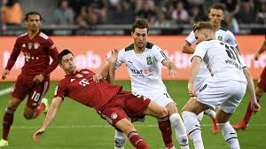 The match is a part of the bundesliga. Dhg Luys 92gem