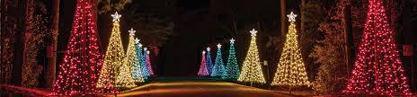 Columbus cafe outdoor lighting Solar Yhomeco Fantasy In Lights Christmas At Callaway Callaway Resort Gardens