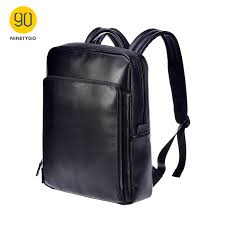 NINETYGO 90FUN <b>Fashion</b> PU Leather <b>Backpack</b> 14 inch Laptop ...