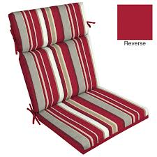 10 10 set of 2 stripe outdoor piece dining chair cushions