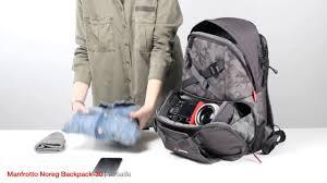 <b>Manfrotto</b> Noreg <b>Camera Backpack</b>-30 for <b>DSLR</b>/CSC - YouTube