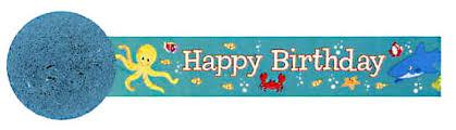 Deep Sea Birthday Streamer Birthday Theme Decoration Packages Ideas