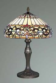 tiffany stained glass lamp. Ivy Tiffany Stained Glass Table Lamp T