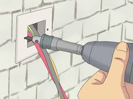 how to hide cables on the wall